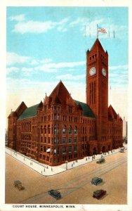 Minnesota Minneapolis Court House 1925 Curteich