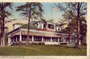 COUNTRY CLUB, ROANOKE, VA 1918