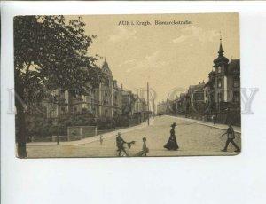 3173896 GERMANY Aue i.Erzgb. Bismarkstrasse Vintage postcard