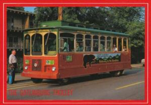 The Gatlinburg Trolley Gatlinburg Tennessee