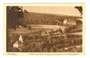 Bad Elster , Germany, PU-1925   Blick nach kath Kirche