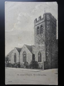 Essex WESTCLIFF ON SEA St. Albans Church c1904