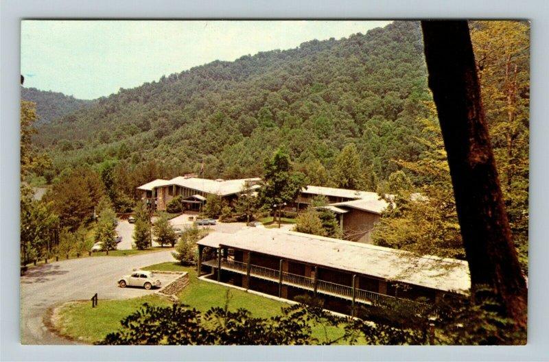 Prestonsburg KY-Kentucky, May Lodge Jenny Wiley State Park, Chrome Postcard
