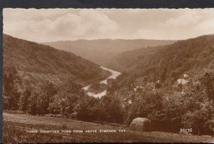 Herefordshire Postcard - Three Counties View From Above Symonds Yat  RS3568