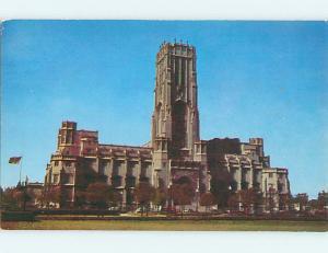 Unused Pre-1980 CHURCH SCENE Indianapolis Indiana IN L3109