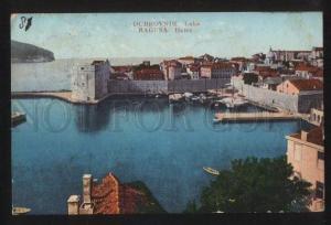 102233 SERBIA Dubrovnik Ragusa Hafen Vintage PC