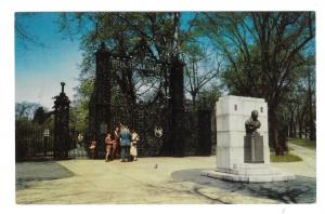 Sir Walter Scott Memorial Canada Halifax Nova Scotia Park Entrance  Postcard
