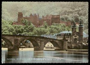 Heidelberg - Morgensonne uber Brucke un Shloss