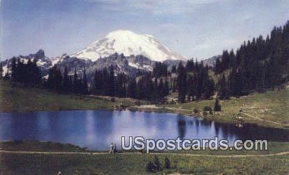 Mt Rainier Tipsu Lake WA Unused