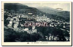 Old Postcard Grasse Vue Generale