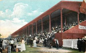 Rochester New Hampshire~Enid Spring Park~Grand Stand~Food Vendors~Ladies~1911 PC