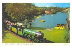 Miniature Train  Scarborough, UK, 40-60s