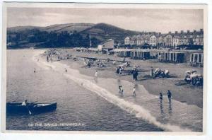 On The Sands, Teignmouth, Devon, England, UK, 1900-1910s