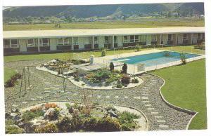 Davy Crockett Motel, Swimming Pool, Kamloops, British Columbia, Canada, 1940-...