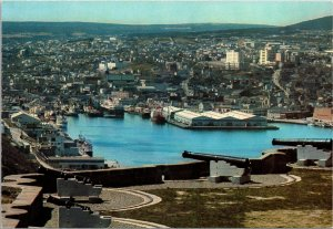 View of St John's Newfoundland Canada Prestamped Postcard unused 1980s