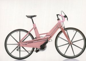 Wilhelmina Plast Itera 1984 Sweden Swedish Bicycle Bike Cycle Postcard