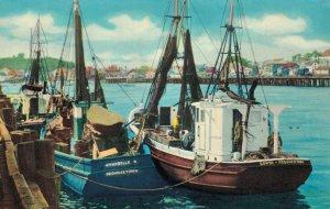 USA Massachusetts Fishing boats in Harbor Cape Cod 03.32