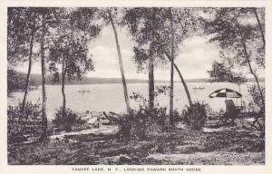 New York Yankee Lake Looking Toward South Shore Albertype