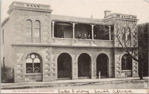 The Standard Bank Queenstown South Africa Cape Colony c1906 Moodie Postcard E75