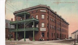 Massachusetts Westfield Bismarck Hotel 1911