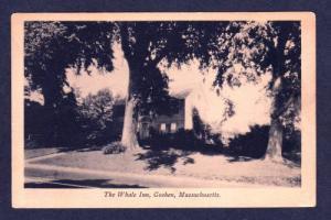 MA The Whale Inn GOSHEN MASS MASSACHUSETTS POSTCARD Old
