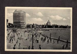 Uruguay Playa Pocitos Montevideo Beach Postcard Tarjeta Postal Carte Postal