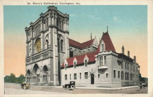 Postcard St Mary's Cathedral Covington Kentucky