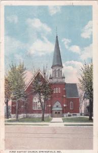 SPRINGFIELD , Missouri ,PU-1917; First Baptist Church