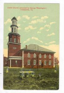 Christ Church (Attended by George Washington), Alexandria, Virginia, 1900-1910s