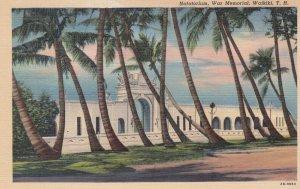 WAIKIKI , Hawaii , 1930-40s ; Natatorium , War Memorial