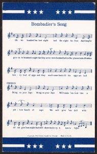 Bombadier's Song – Exhibit Supply card @ 1942