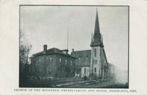 DESERONTO, Ontario , 1907 ; Church of the Redeemer (Presbyterian) & Manse