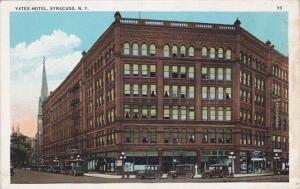 New York Syracuse The Yates Hotel