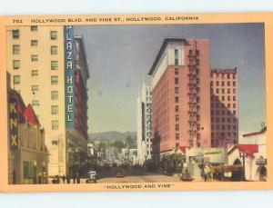 Linen PLAZA HOTEL Los Angeles - Hollywood California CA Q7134