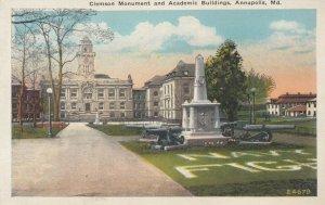 ANNAPOLIS , Maryland ,1900-10s ; Clemson Monument