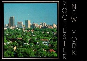 New York Rochester Panoramic View