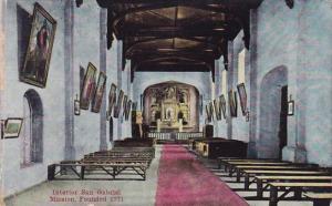 California San Gabriel Interior San Gabriel Mission Founded 1771