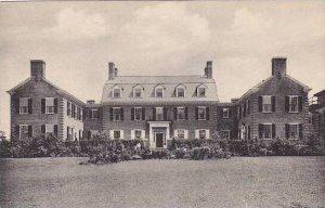 New Hampshire Hanover Dick Halls House  Dartmouth College Albertype