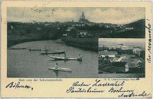 VINTAGE POSTCARD:  CZECH REPUBLIC - Pravlov   Prahlitz 1903