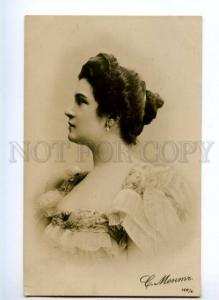 175354 Susan MENT French DRAMA Actress Vintage Photo PC
