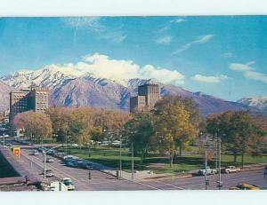 1964 City Park & Hotel Ogden Utah UT Q6199
