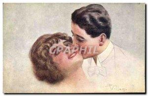 Old Postcard Fantasy Illustrator Woman Villani
