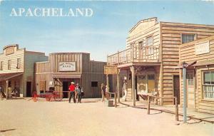 Apache Pass Arizona 1960s Postcard Apacheland Studio Movie Set TV Motion Picture