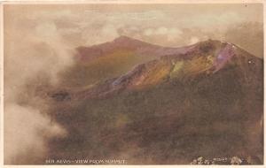 BEN NEVIS SCOTLAND VIEW FROM SUMMIT MAC DOUGALL POSTCARD