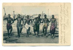 Native men at play (dancing)Cape of Good Hope ,  PU-1905