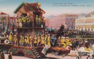 NICE , France , 1900-10s ; Carnaval Float