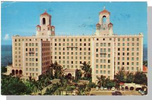Havana/Habana, Cuba Postcard, Hotel Nacional, 1955!
