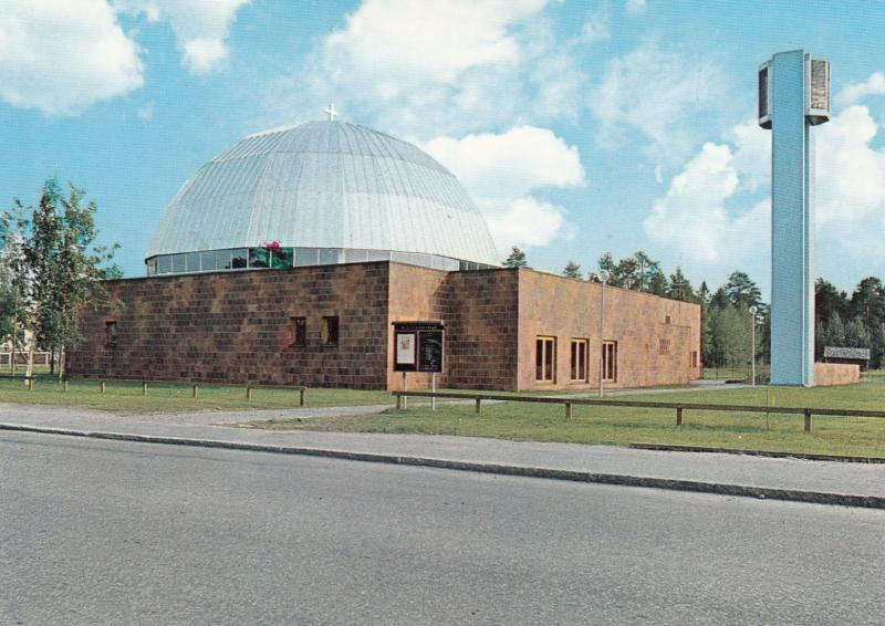 , Sweden ,  1960s ; Mjolkuddskyrkan