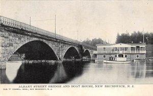 nj-new_brunswick Albany Street Bridge and Boat House Unused