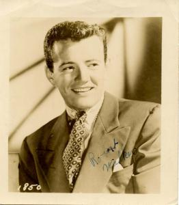 Autograph - Robert Walker, Actor.  PERSONALLY SIGNED??? Unable to determine. ...